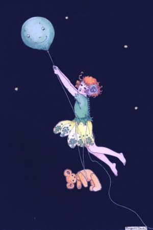 The Magic Balloon Margaret Clark Print