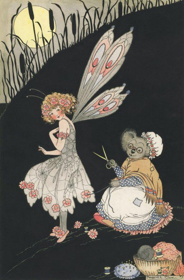 Fairy Dressmaker Margaret Clark Print
