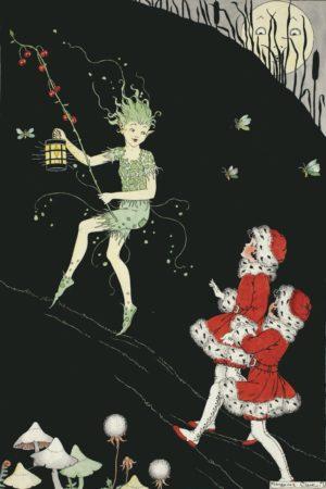 Spirit Of Mischief Margaret Clark Print