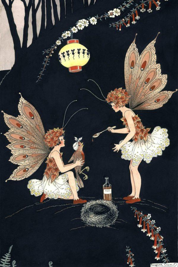 First Aid Fairy Margaret Clark Print