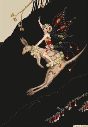 Kangaroo Fairy Margaret Clark Print