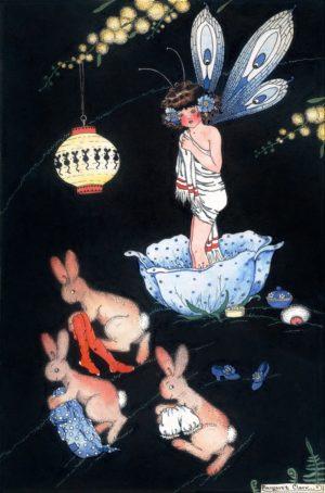 Bathtime 1 Margaret Clark Print