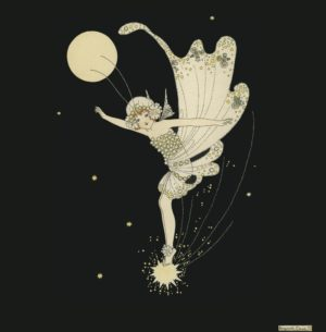 The Star Fairy Margaret Clark Print