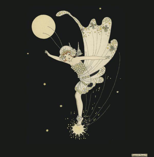 The Star Fairy Margaret Clark Print