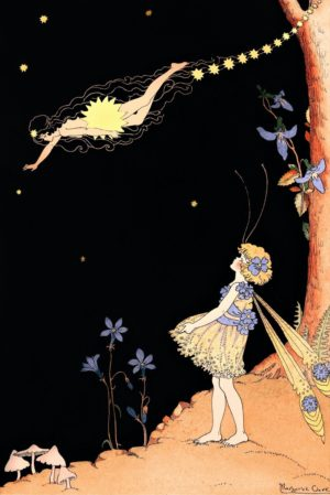 The Comet Fairy Margaret Clark Print