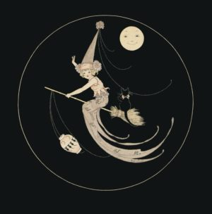 Witchkin Margaret Clark Print