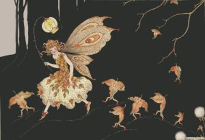 Autumn Fairy Margaret Clark Print