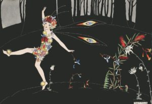 Wildflower Fairy Togetherness Margaret Clark Print