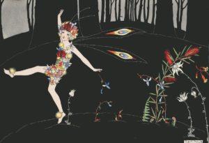 Wildflower Fairy Togetherness Margaret Clark Print