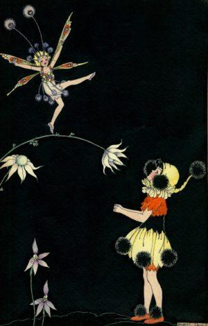 Circus Fairy / Fairy Dancer Margaret Clark Print