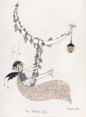 The Night Fairy Margaret Clark Print