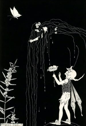 Washing Hair Day Margaret Clark Print