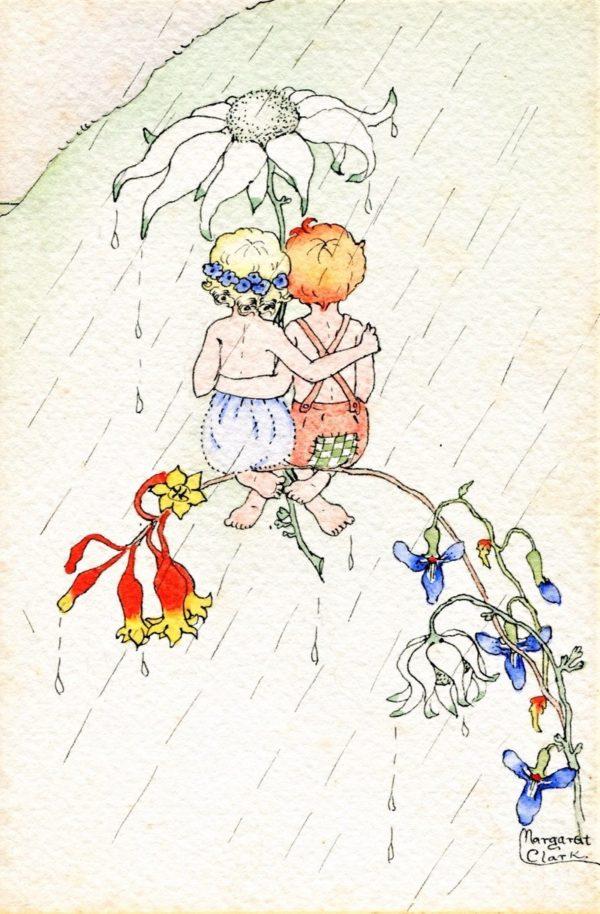 Togetherness Margaret Clark Print