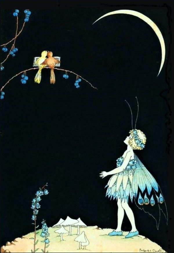 The Blue Fairy Margaret Clark Print