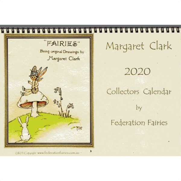 Margaret Clark 2020 Fairies Calendar