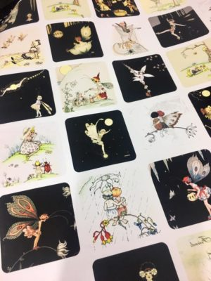 Margaret Clark Fairy Wrapping Paper